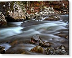 River Magic Acrylic Print by Douglas Stucky