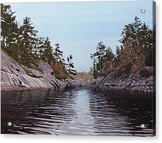 River Narrows Acrylic Print