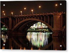 Acrylic Print featuring the photograph River Nights by Kate Purdy