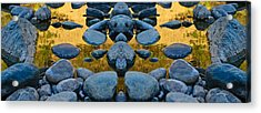 River Of Gold 3 Acrylic Print
