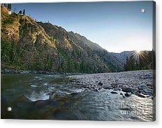 River Of No Return Acrylic Print by Idaho Scenic Images Linda Lantzy