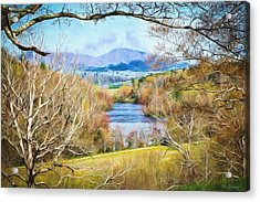 River Overlook Acrylic Print