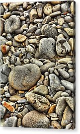 River Rock Acrylic Print