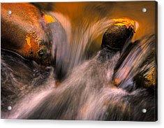 River Rocks, Zion National Park Acrylic Print