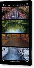 River Seasons Acrylic Print