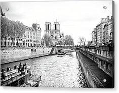 River Seine, Paris Acrylic Print