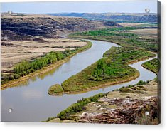 Acrylic Print featuring the photograph River by Sergey and Svetlana Nassyrov