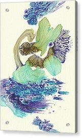 River - #ss18dw004 Acrylic Print by Satomi Sugimoto