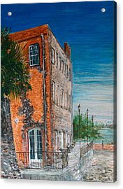 River Street Acrylic Print by Pete Maier