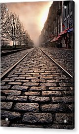 River Street Railway Acrylic Print