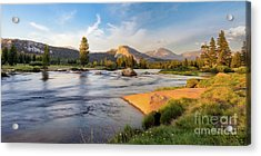River Sunset  Acrylic Print