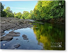 River Swale, Easby Acrylic Print