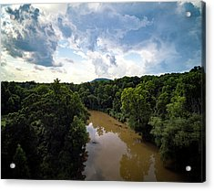 River View From Above Acrylic Print