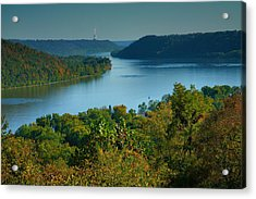 River View II Acrylic Print by Steven Ainsworth