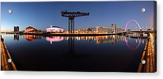 River View Panoramic Acrylic Print by Grant Glendinning