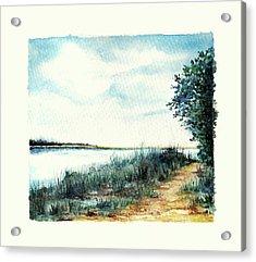 River Walk Acrylic Print by Heidi Kriel