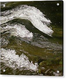 River Waves Acrylic Print