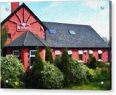 Riverbank Restaurant Riverstown Ireland Acrylic Print