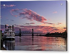 Cape Fear Riverboat Acrylic Print