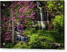 Rivercut Waterfall Acrylic Print