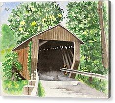 Riverdale Road Bridge Acrylic Print