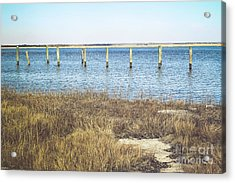 Acrylic Print featuring the photograph River's Edge by Colleen Kammerer