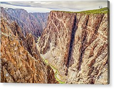 Acrylic Print featuring the photograph Rivers Of Time by Eric Glaser