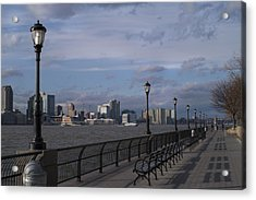 Riverside Park Nyc II Acrylic Print by Henri Irizarri