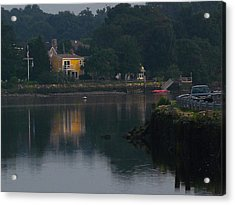 Riverview Reflections Acrylic Print by Margie Avellino