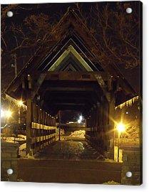 Riverwalk Bridge I Acrylic Print