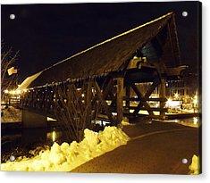 Riverwalk Bridge IIi Acrylic Print