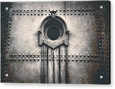 Rivets And Rust Acrylic Print by Scott Norris