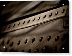 Acrylic Print featuring the photograph Rivets by Paul Job