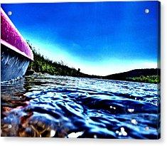 Rivewaves Acrylic Print