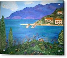 Riviera Remembered Acrylic Print by Alanna Hug-McAnnally