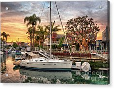Rivo Alto Canal And Naples Canals Acrylic Print