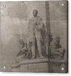 Rizal 1966-67- Full Yashicad Neg Acrylic Print