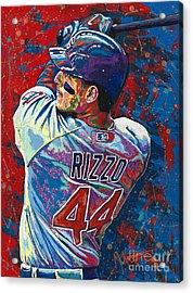 Rizzo Swings Acrylic Print by Maria Arango