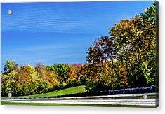 Road America In The Fall Acrylic Print