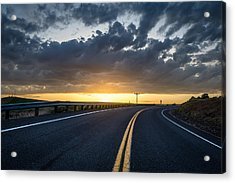 Road Home Acrylic Print by Brad Stinson