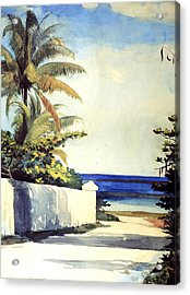 Road In Nassau Acrylic Print