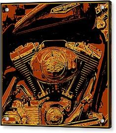 Road King Acrylic Print by Gary Grayson