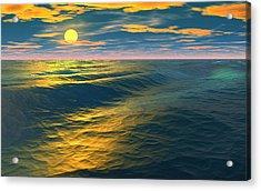 Road To Atlantis Acrylic Print by David Jackson