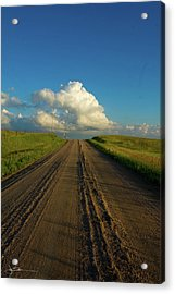 Road To Cumulus Acrylic Print
