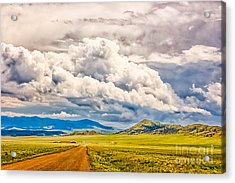 Road To Elevenmile Canyon Acrylic Print by Dennis Wagner