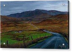Road To Glenveagh Acrylic Print