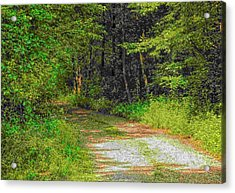Road To Heaven Acrylic Print by Michael Degenhardt