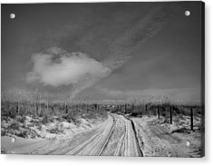 Road To... Acrylic Print by Mario Celzner