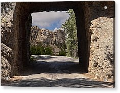 Road To Mt. Rushmore Acrylic Print