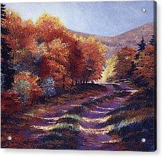 Road To My Heart Acrylic Print by David Lloyd Glover